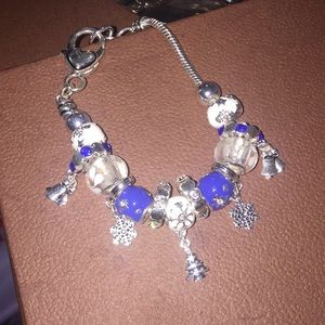 Brand new winter charm bracelet